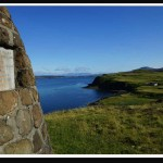 Borreraig MacCrimmon Cairn Monument, Isle of Skye, Scotland