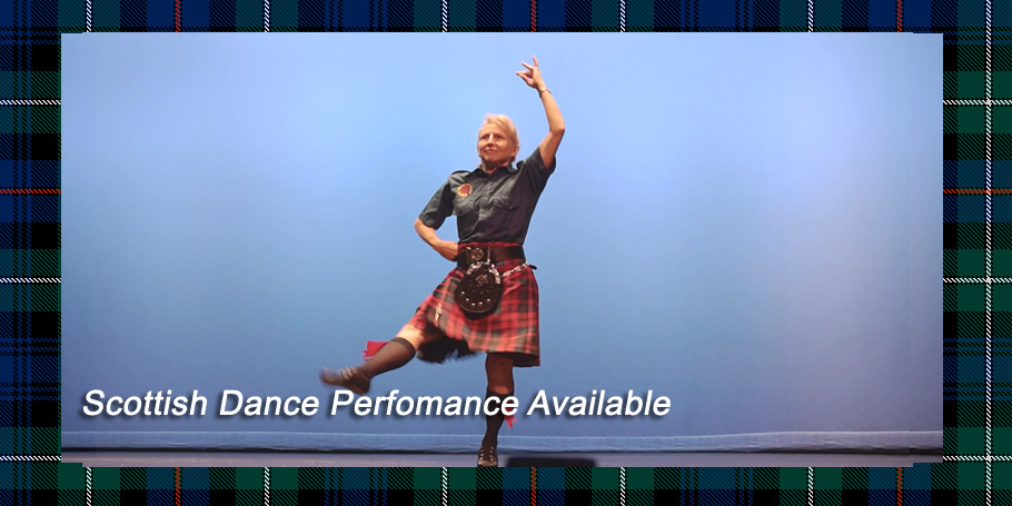 Orlando Bagpiper for Hire Pat is available for Scottish Dance Performances