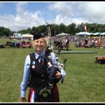 Grandfather Mountain Highland Games medal winner