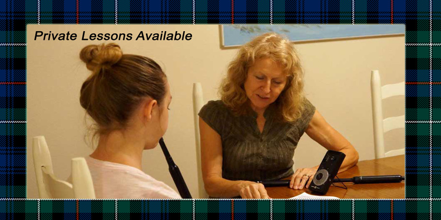 Orlando Bagpiper for Hire Pat is available for bagpipe instruction