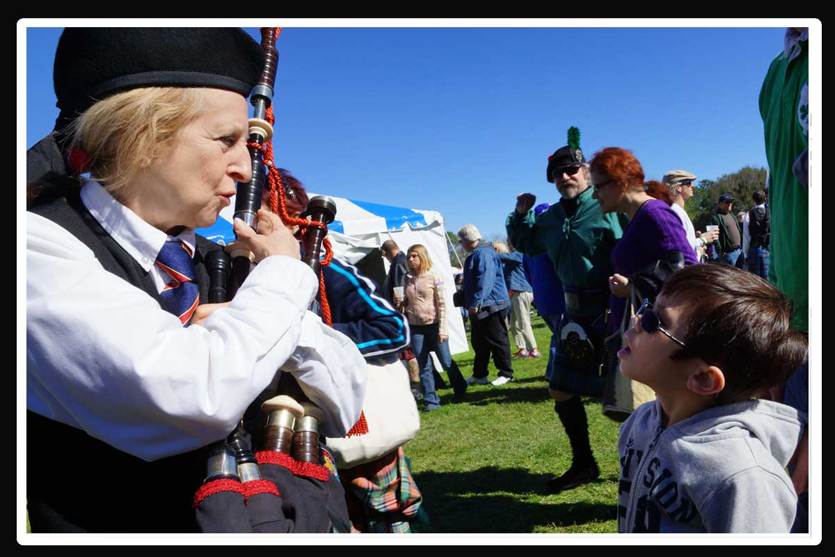 Pat explains The Bagpipes At Orlando Highland Games