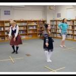 Sword dance instruction